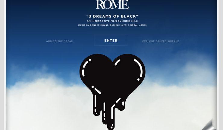 "ROME "" 3 Dreams of Black """