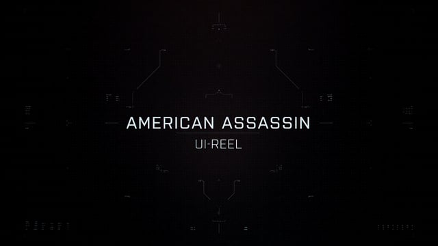 American Assassin UI showreel