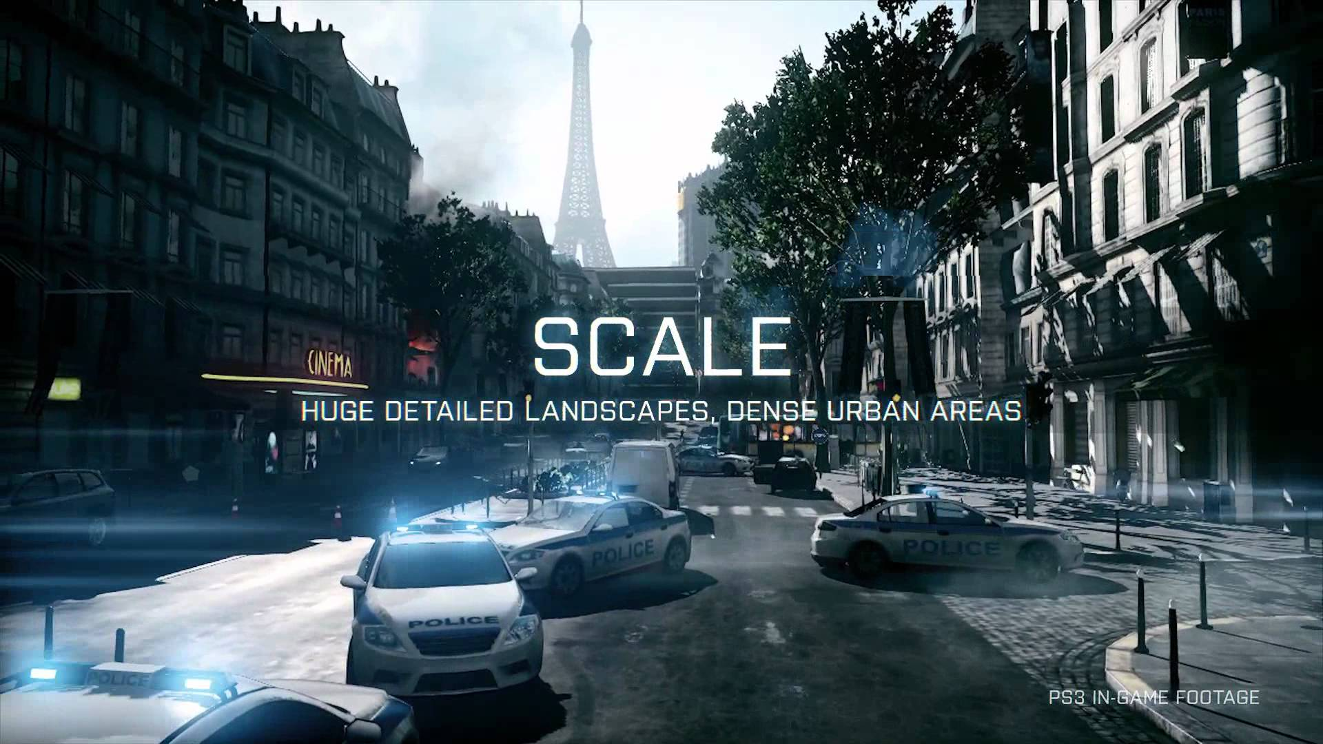 「Battlefield 3」最新トレーラー