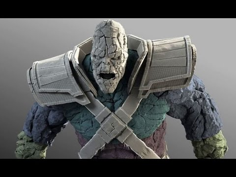 CGI VFX Breakdown HD: Thor: The Dark World Stone Man Vfx Breakdown by Luma Pictures