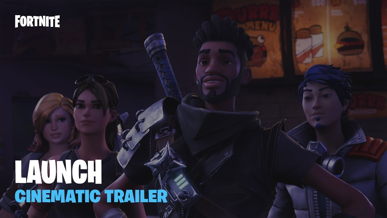 Fortnite – Launch Cinematic