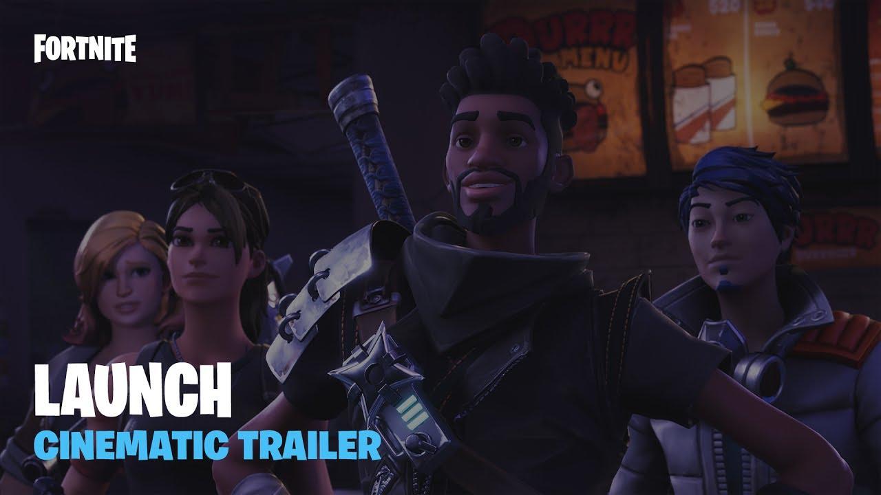 Fortnite – Launch Cinematic