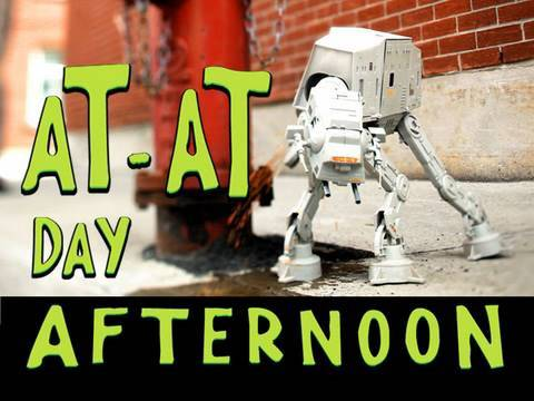 Making of AT-AT