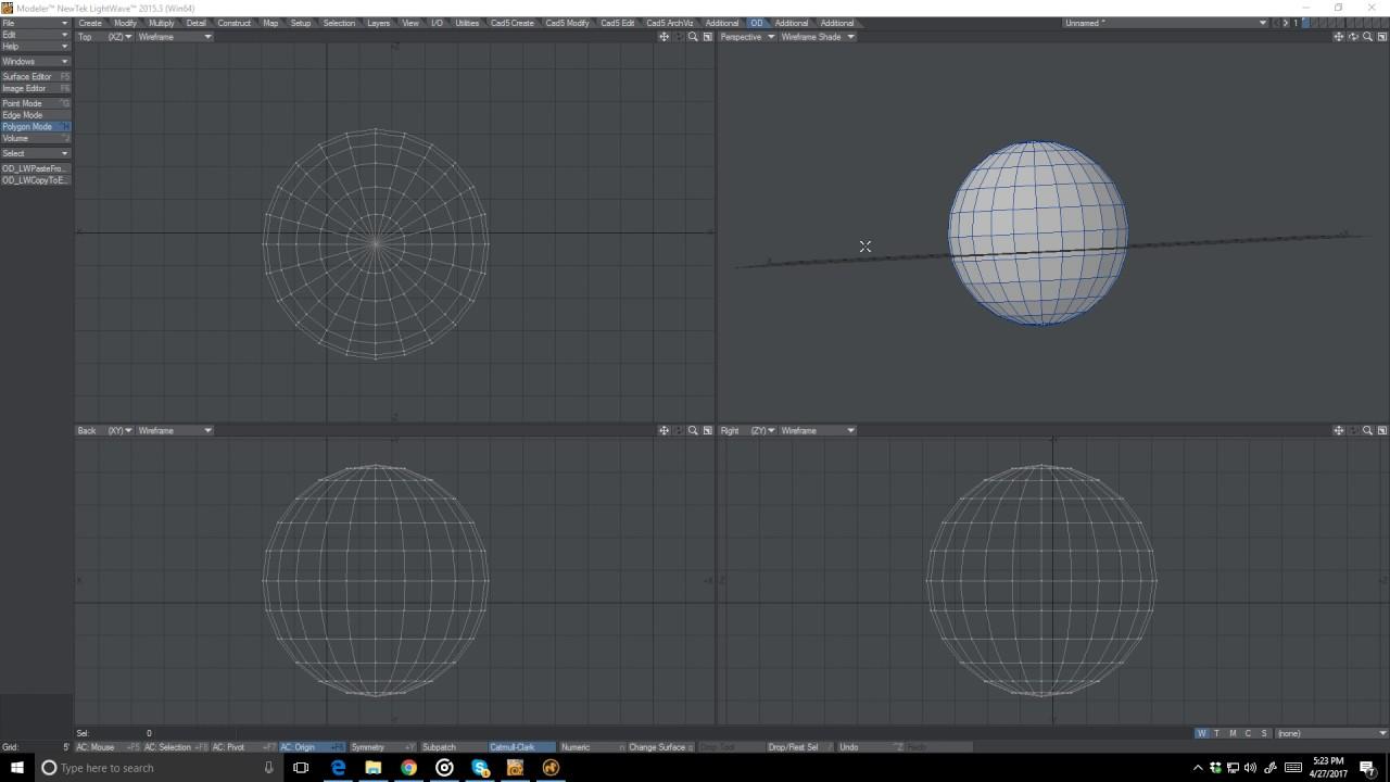 3Dソフト間でポリゴンや頂点をコピペするツール「OD_CopyPasteExternal」