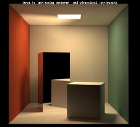 WebGLによるリアルタイムパストレース