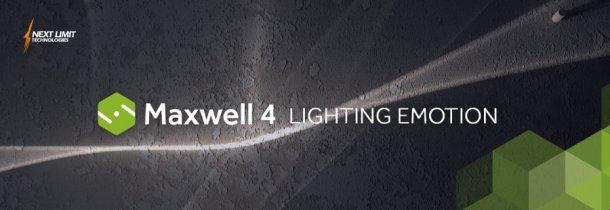 MaxwellRender 4 発表