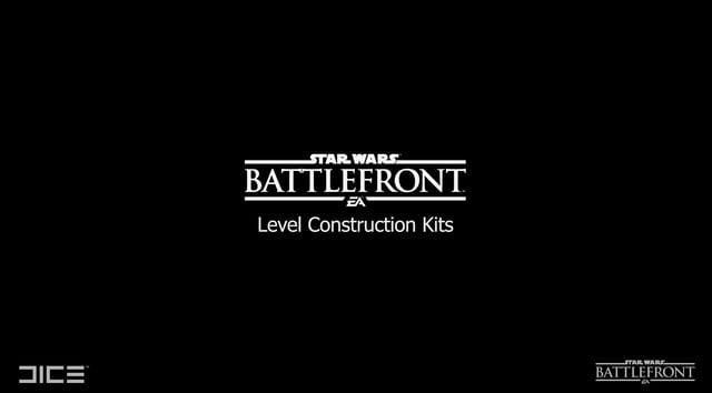 Andrew Hamilton - DICE - Star Wars: Battlefront - Level Construction Kits