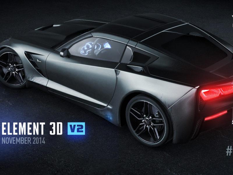 Element 3D V2 発表