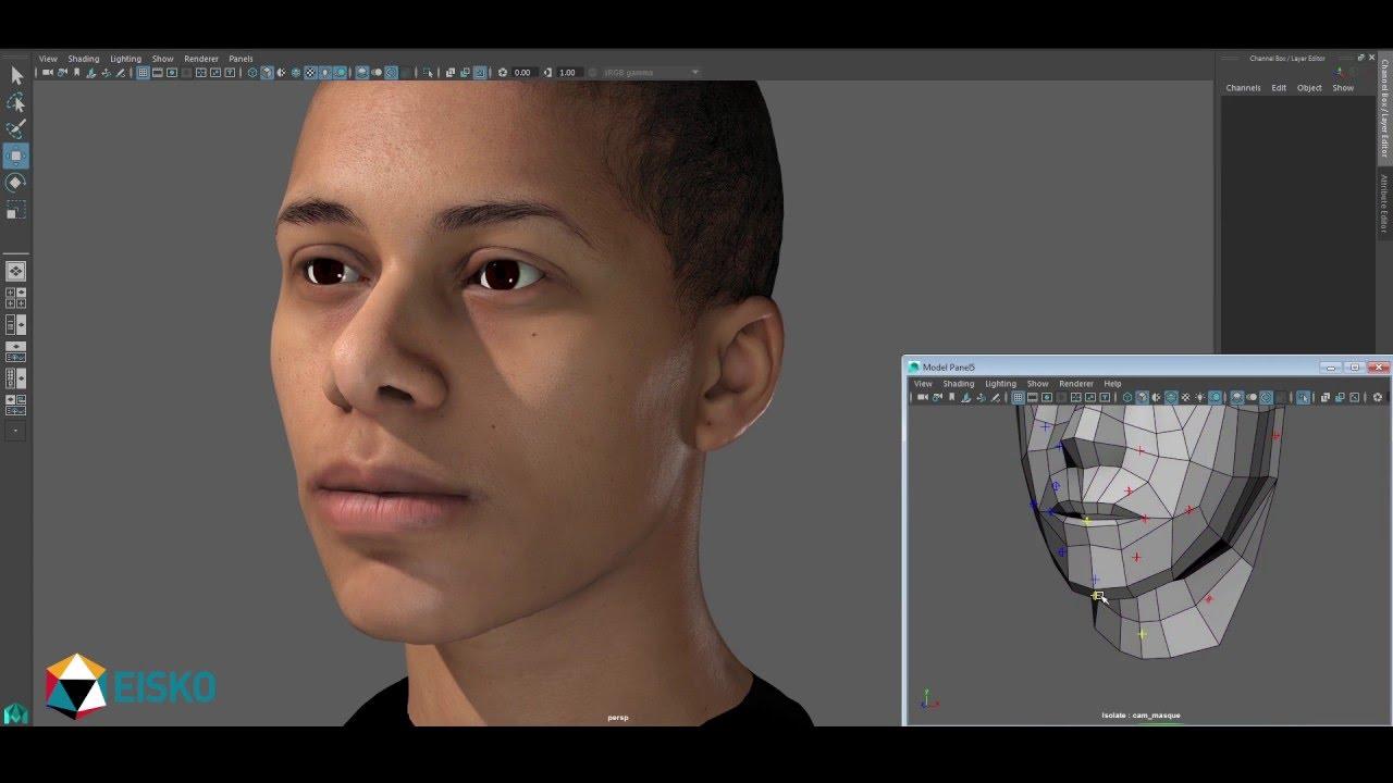 EISKO – 3D Facial Rig