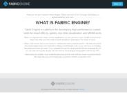 Fabric Engine が開発終了