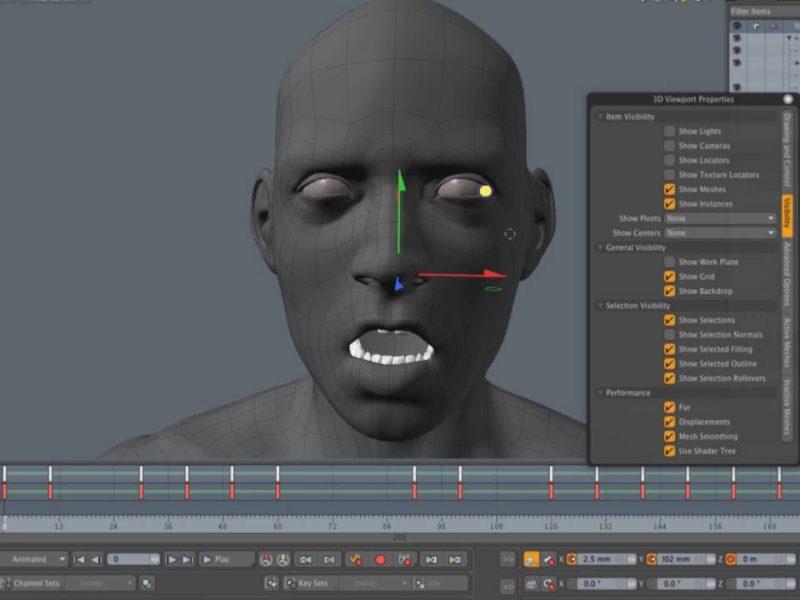 Facial Rigging Modo 902