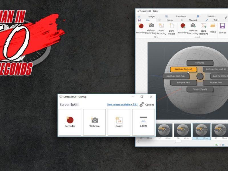 画面キャプチャを手軽にgifにできるソフト 「ScreenToGif」