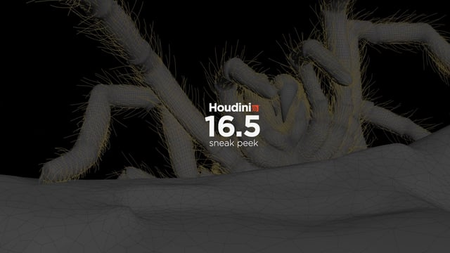 Houdini 16.5 Sneak Peek