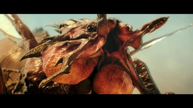It came from the desert – VFX breakdown