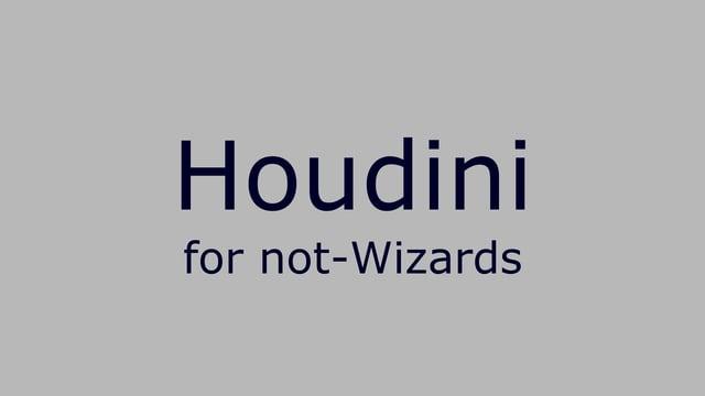modo と比較しながら Houdini の使い方を説明してる動画