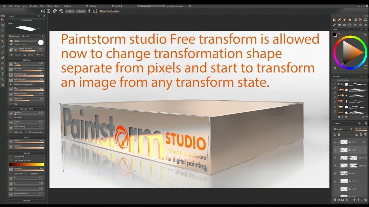 Paintstorm 2.02 リリース