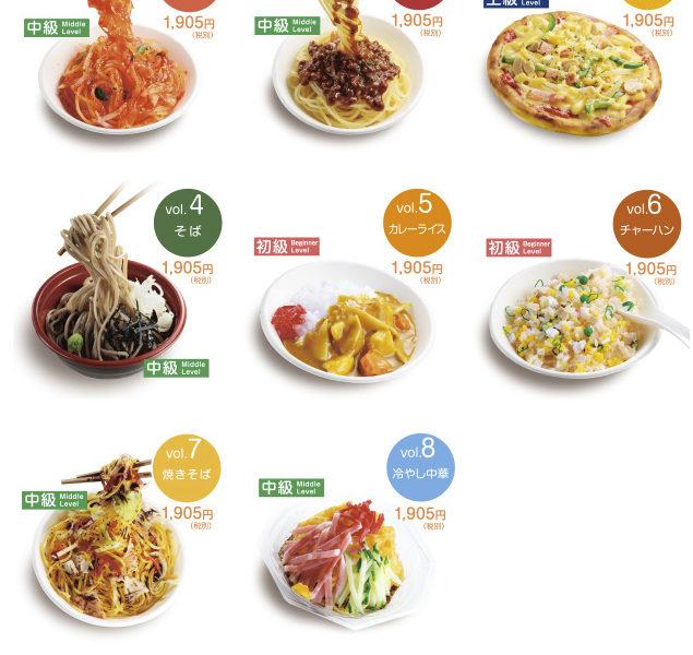 自分で作る食品サンプルキット