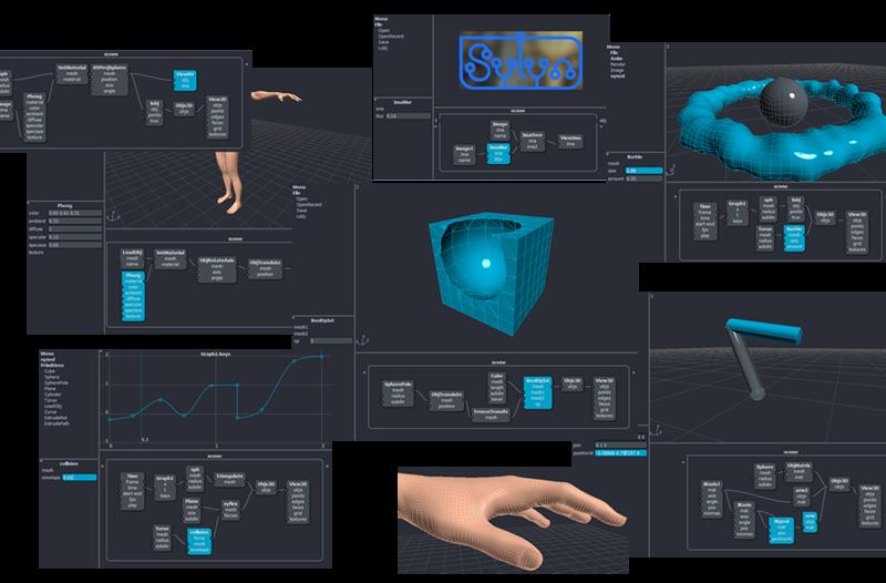 ノードベースの新しいアニメーションソフト「Sylyn」