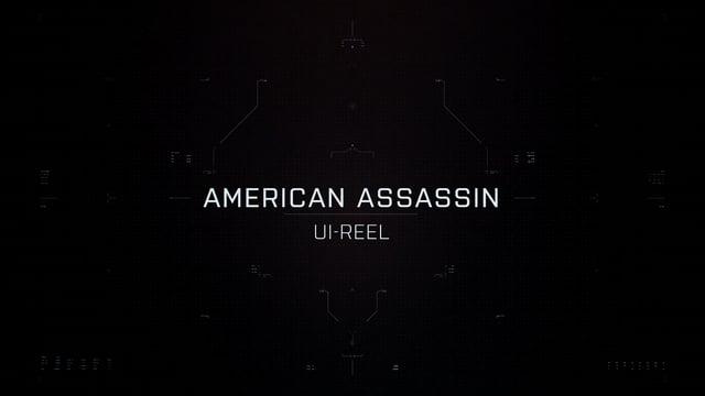 American Assassin UI showreel