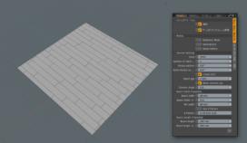 modoの床作成メッシュオペレータ「Floor Maker Procedural」