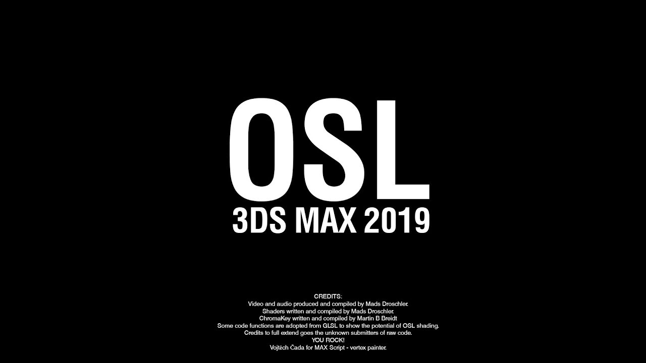 3DS Max 2019 リリース