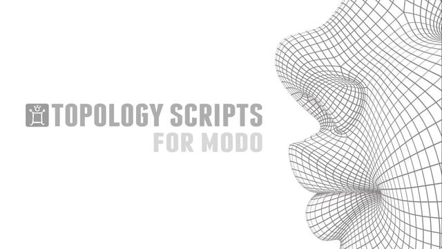 Pushing Points Topology Scripts for MODO