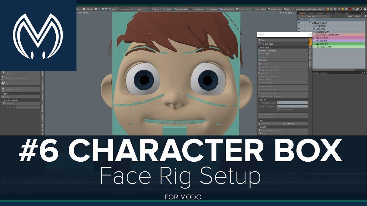 MODO - CharacterBox tutorials