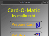 Card-O-Matic KIT for modo