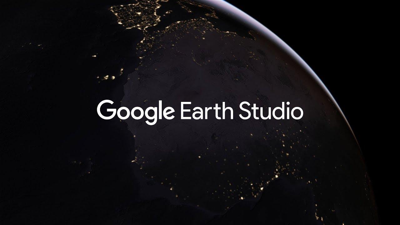 空撮映像が作れる「Google Earth Studio」