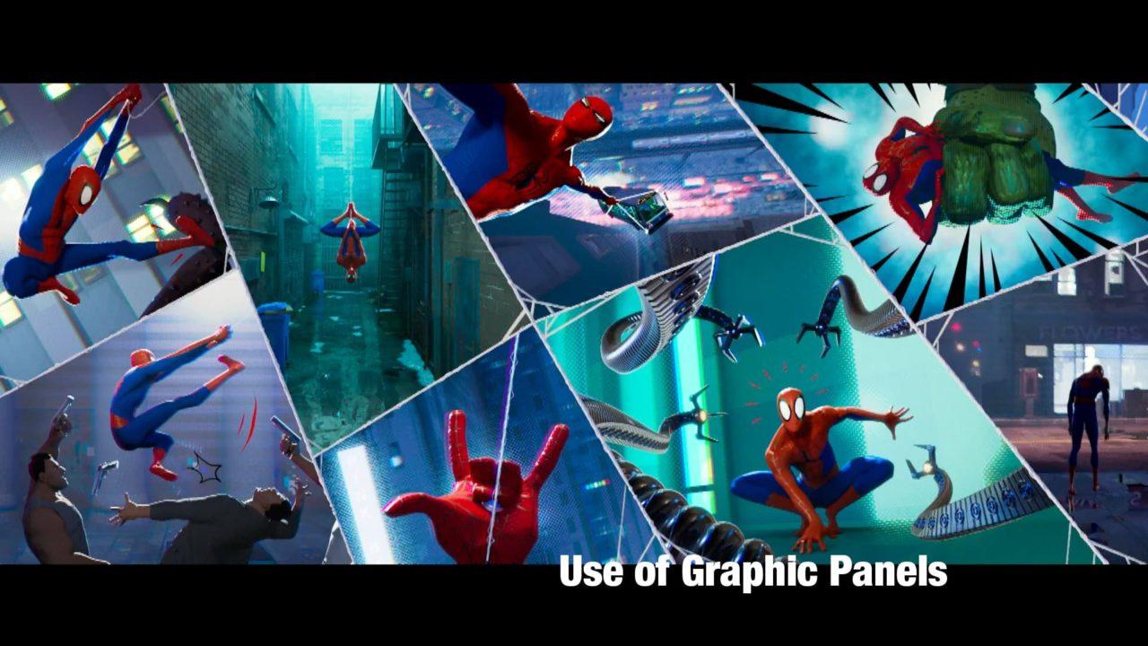 Spider-Versemの独創的なビジュアル