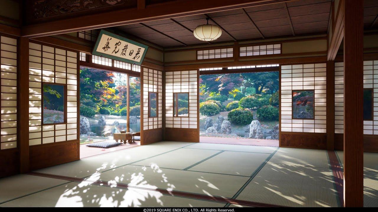プロシージャル技法による背景の自動生成 『1,000の和室』