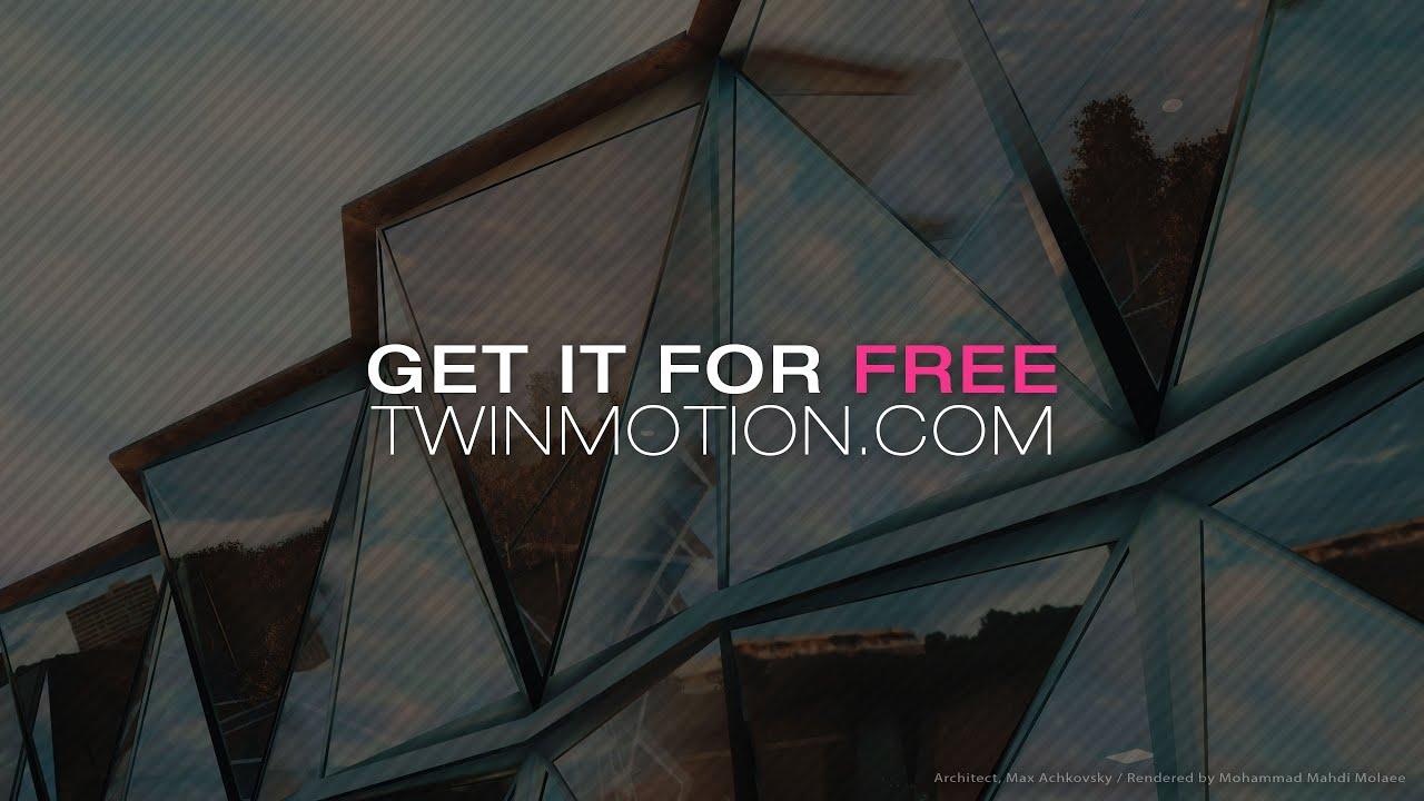 Epic GamesがTwinmotionを買収し2019年11月まで無料化