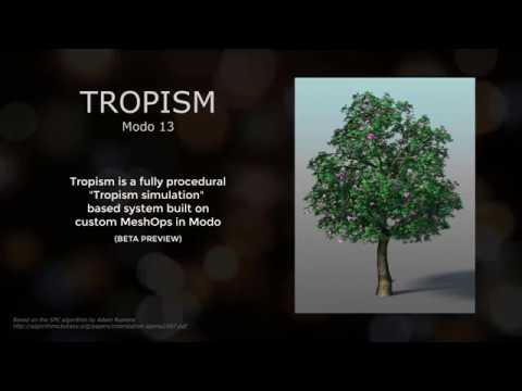 Tropism V1.0 for Modo 13