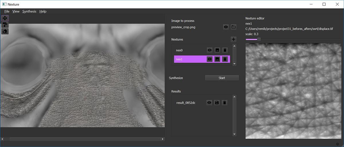 CGモデルにディテールを追加するツール「Nexture」