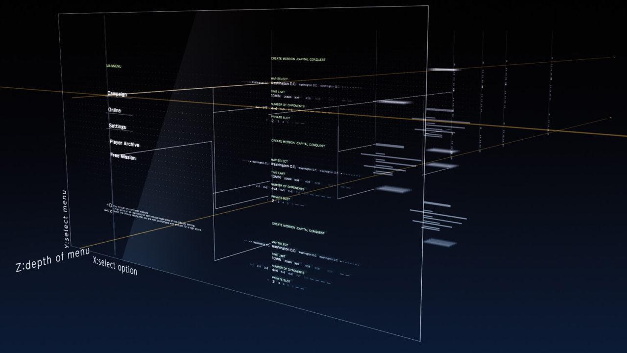 「エースコンバット7 スカイズ・アンノウン」 作中世界のGUIメイキング