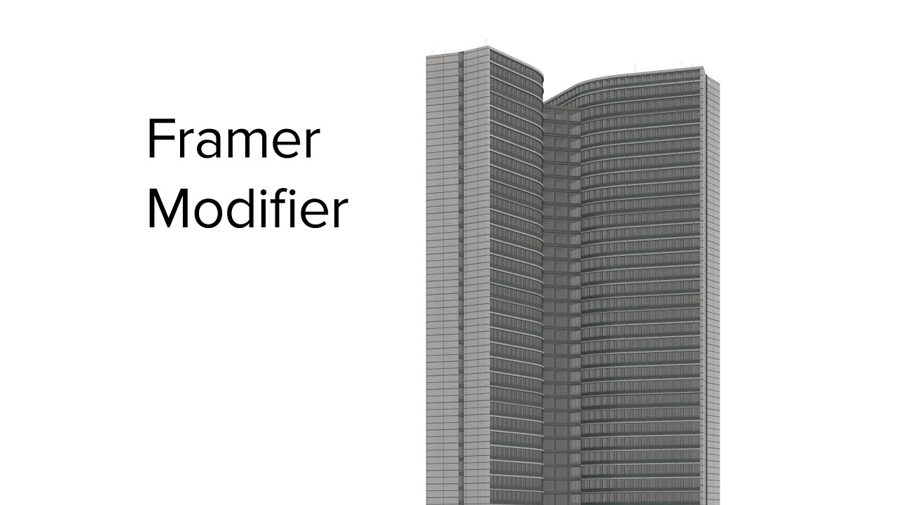 Framer Modifier 3dsMax