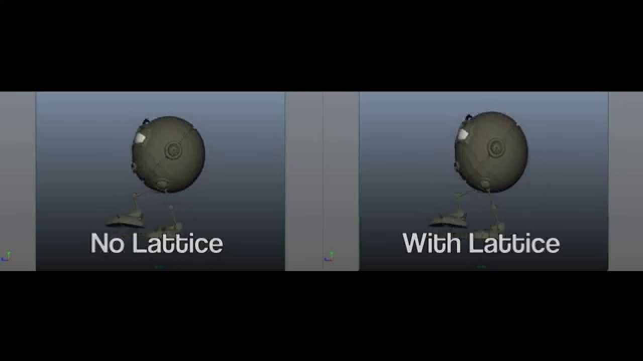 Toolchefs Camera Lattice for Maya