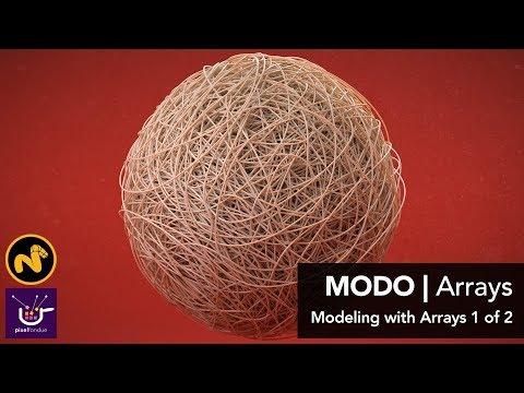 Arrayを使用したモデリング
