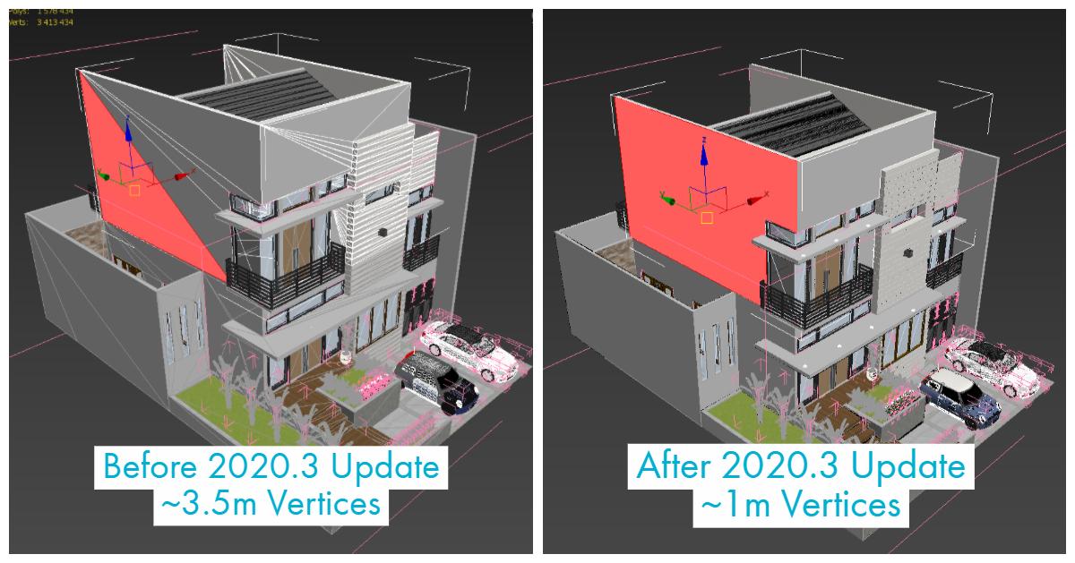 3ds Max 2020.3リリース
