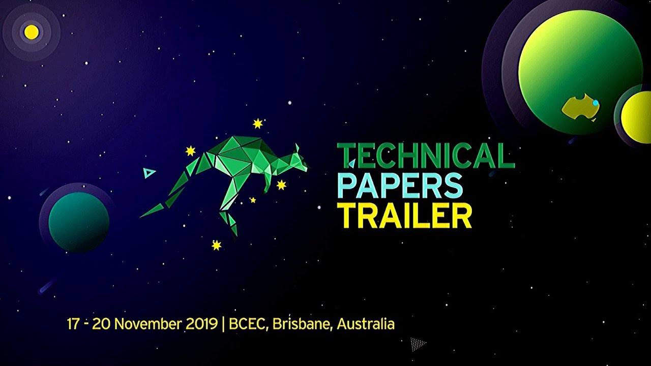 SIGGRAPH Asia 2019 – Technical Papers Trailer