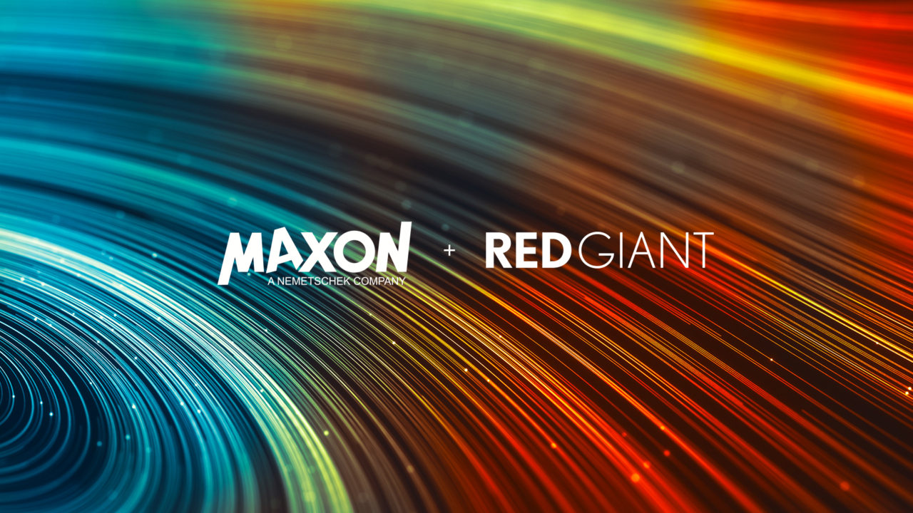 MaxonとRed Giantが合併
