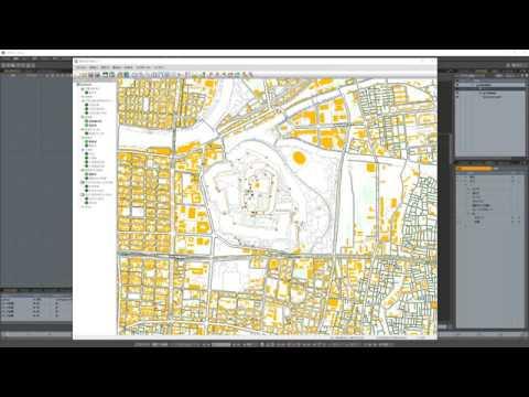 MODOの地図インポータースクリプト
