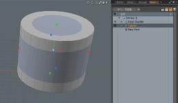 modoのプロシージャルモデリングをダイレクトモデリングツールで編集する方法