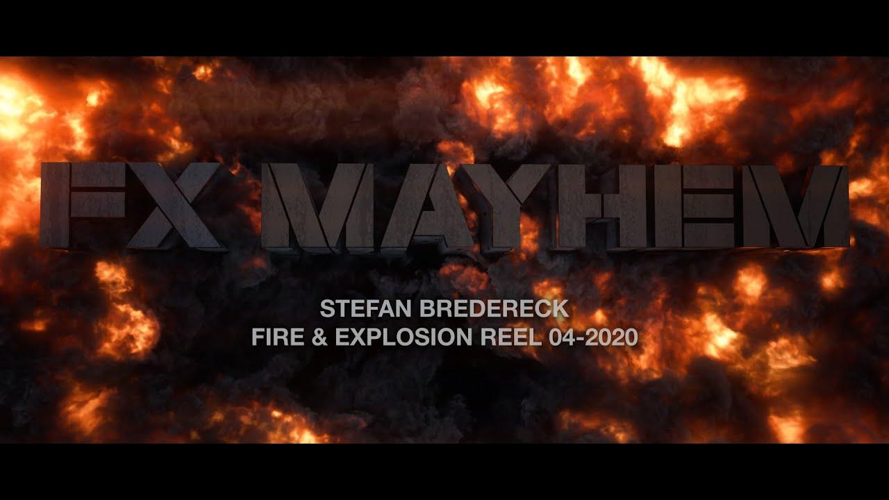 Stefan Bredereck - Fire & Smoke VFX Reel 2020
