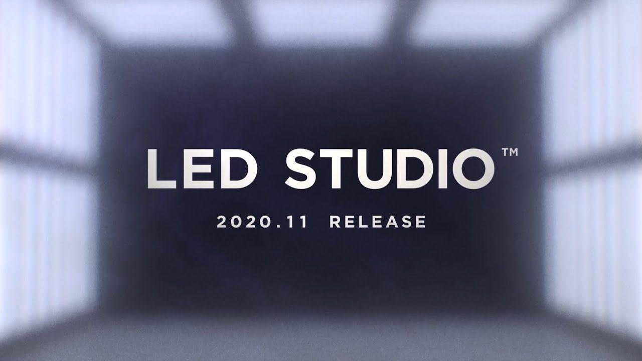 LEDウォールを使用した撮影スタジオ「LED STUDIO」