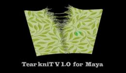 TearKnitFX V1.0 for Maya
