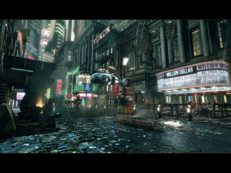 映画のワンシーンを3Dゲームエンジンで再現