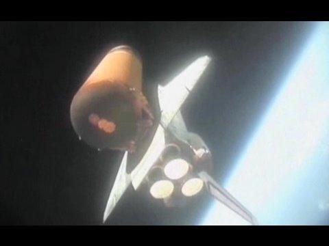 固体ロケットブースター落下ムービー