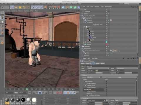 CINEMA 4D R13 Character Tools