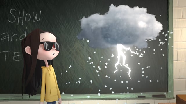 The Girl and the Cloud